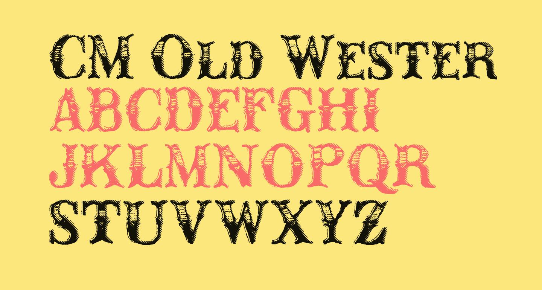 CM Old Western