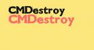 CMDestroy