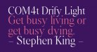 COM4t Drify Light