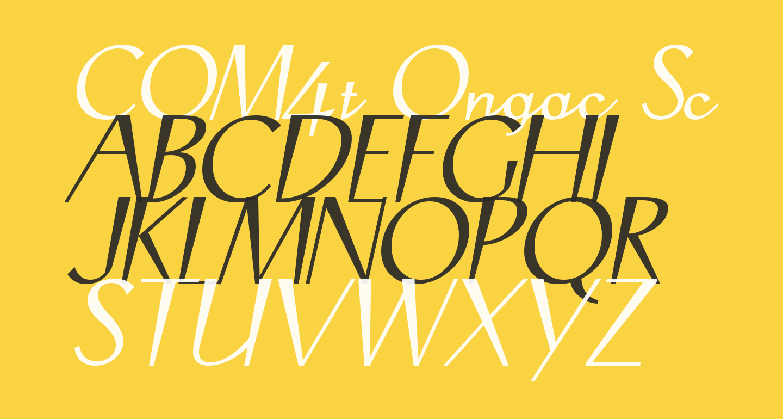 COM4t Ongac Script