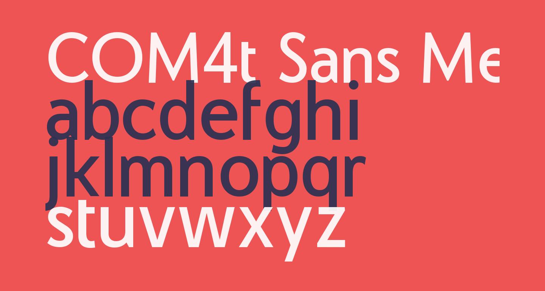 COM4t Sans Medium
