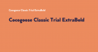 Cocogoose Classic Trial ExtraBold
