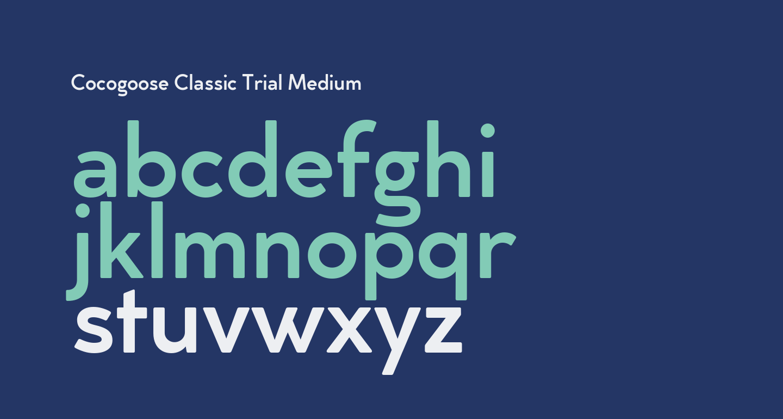 Cocogoose Classic Trial Medium
