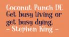 Coconut Punch DEMO Regular