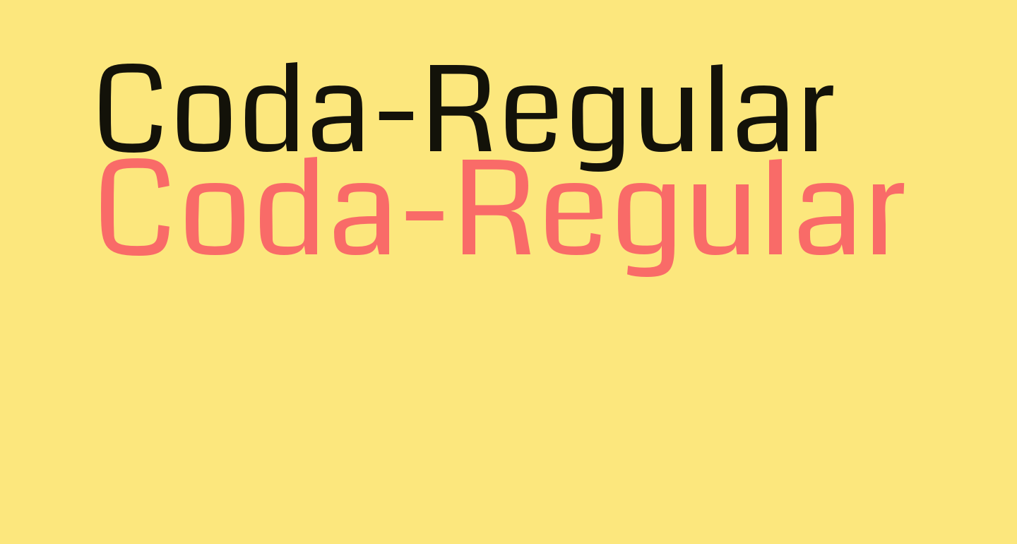 Coda-Regular