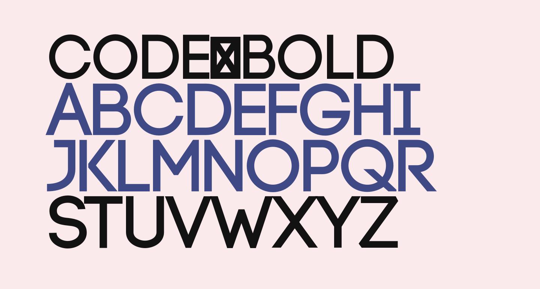 Code-Bold