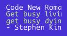 Code New Roman