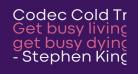 Codec Cold Trial Regular