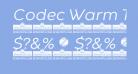 Codec Warm Trial News Italic