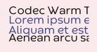 Codec Warm Trial Regular