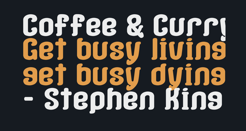 Coffee & Curry Shop__G