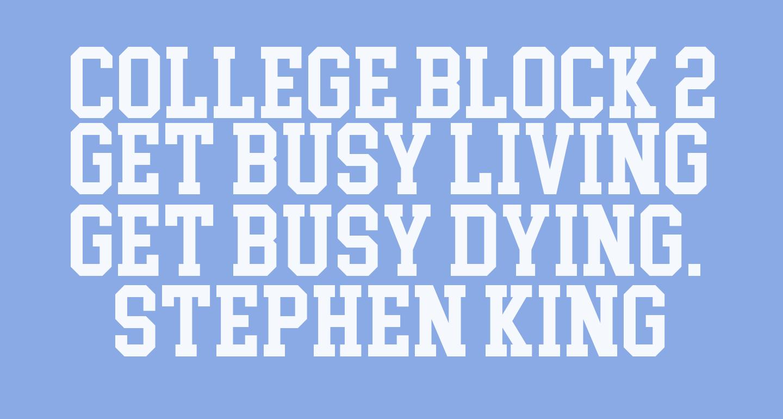 College Block 2.0