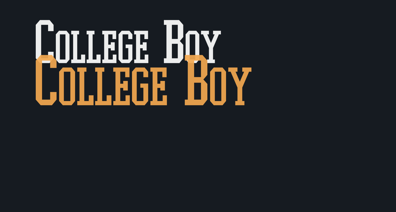 College Boy