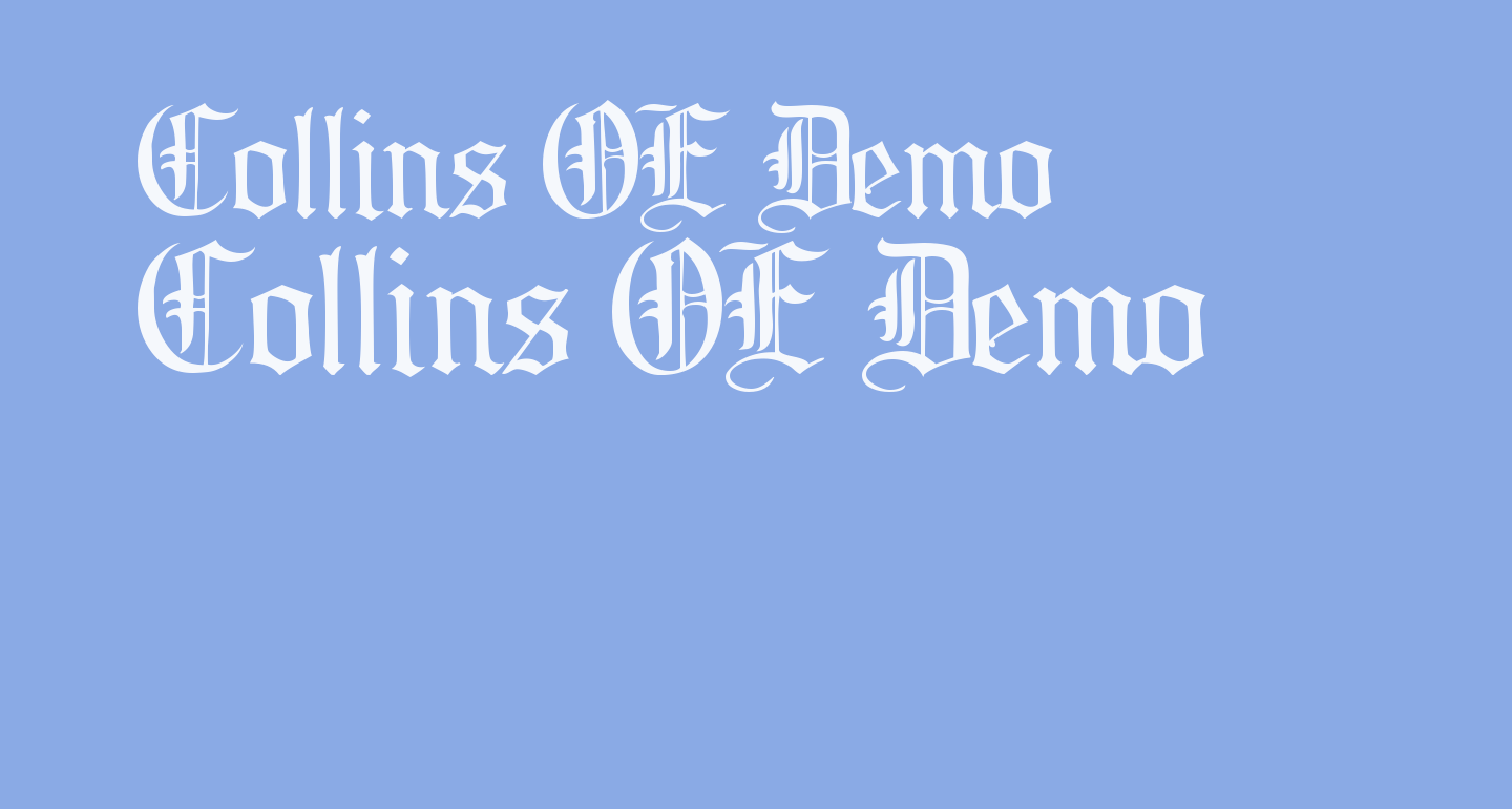 Collins OE Demo