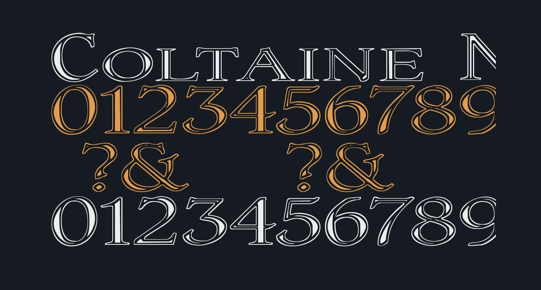 Coltaine No 1