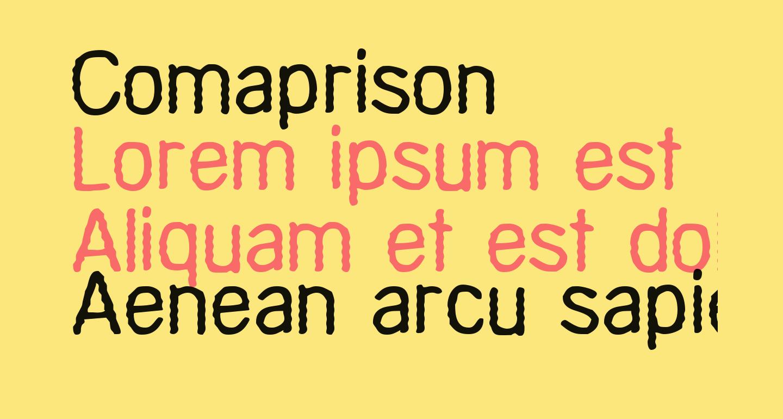 Comaprison