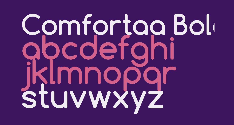 Comfortaa Bold