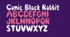 Comic Black Rabbit