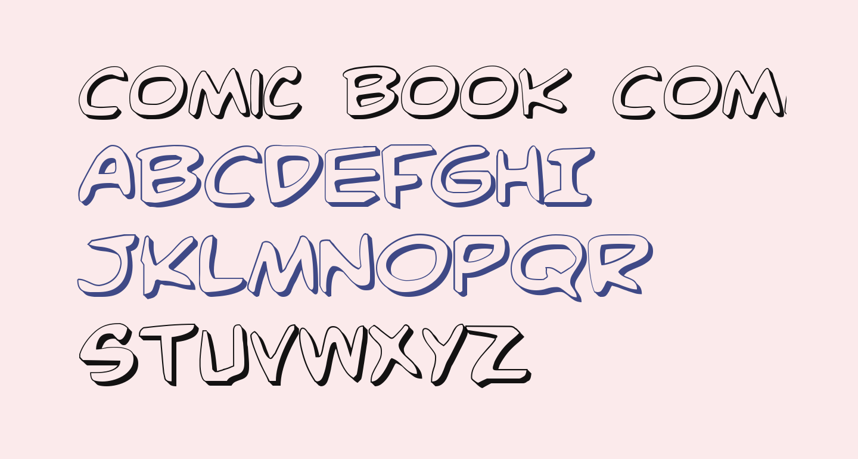 Comic Book Commando 3D