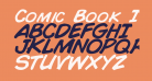 Comic Book Italic