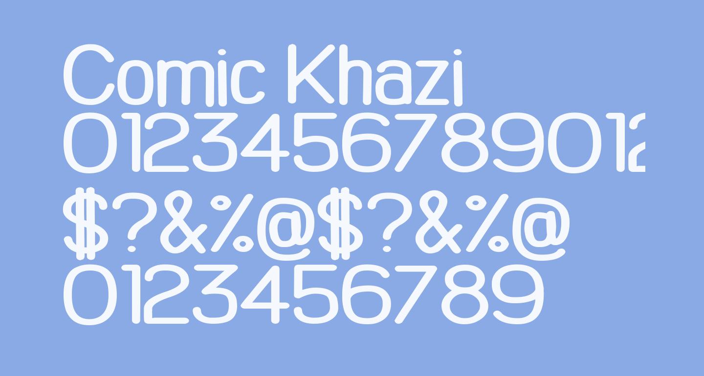 Comic Khazi