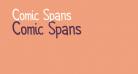 Comic Spans
