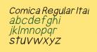 Comica Regular Italic