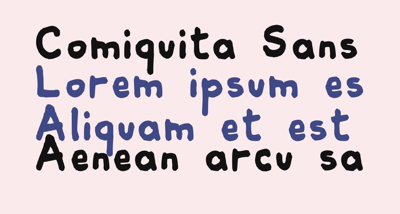 Comiquita Sans