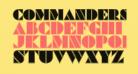 Commanders Outlined Regular