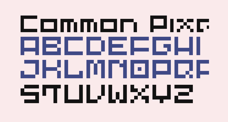 Common Pixel