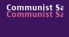 Communist SansBold