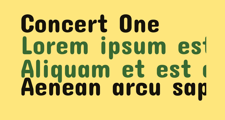 Concert One