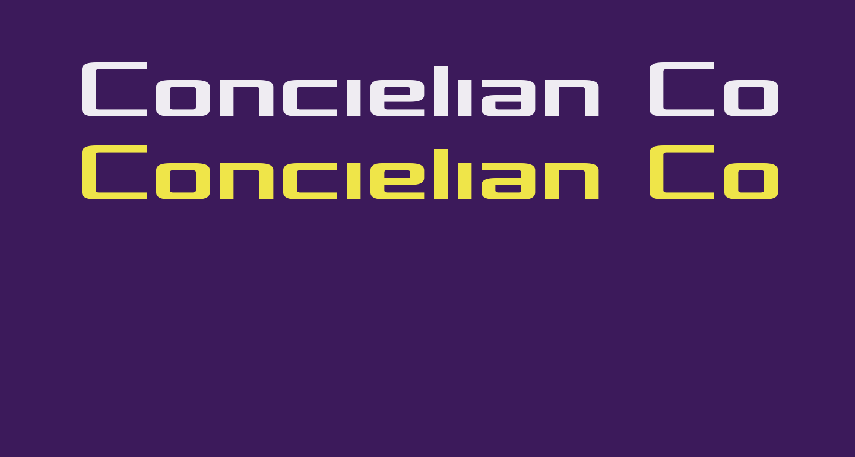 Concielian Condensed