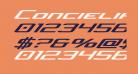 Concielian Jet Expanded Italic