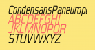 CondensansPaneurope-Oblique