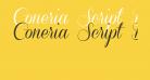 Coneria Script Demo