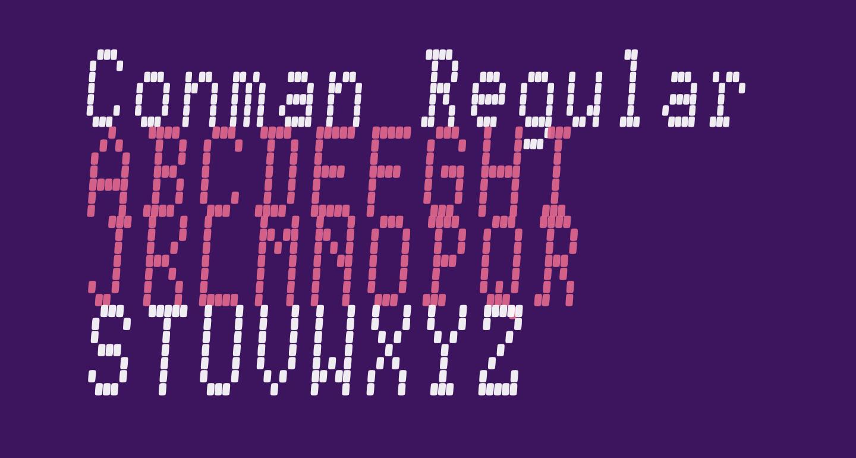 Conman Regular