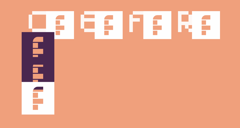 Connor's Epic Font Regular
