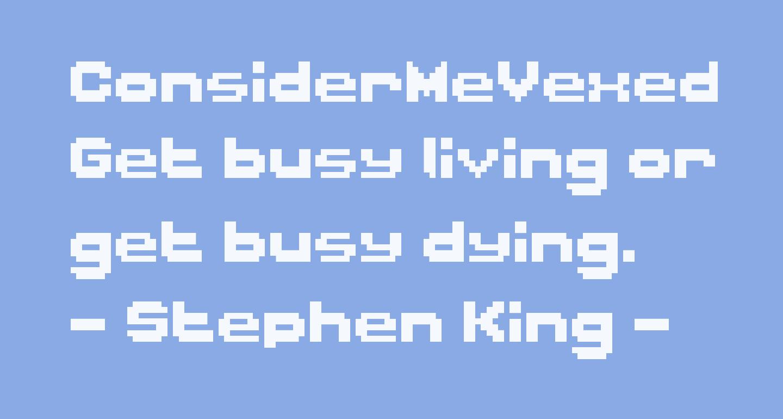 ConsiderMeVexed Regular