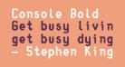 Console Bold