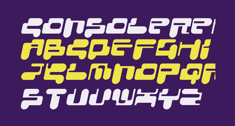 ConsoleRemix Italic