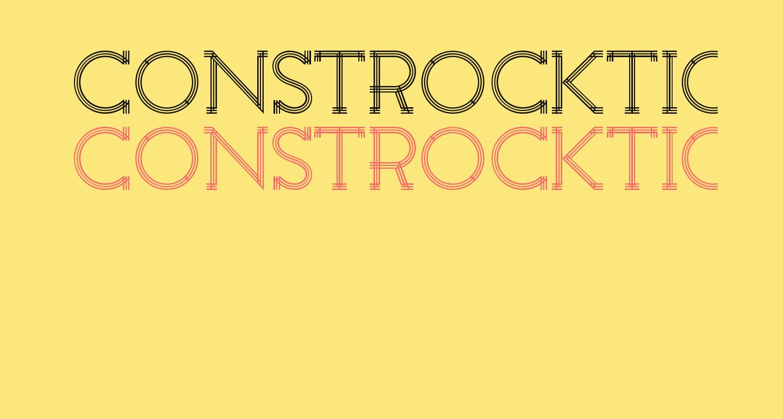 Constrocktion