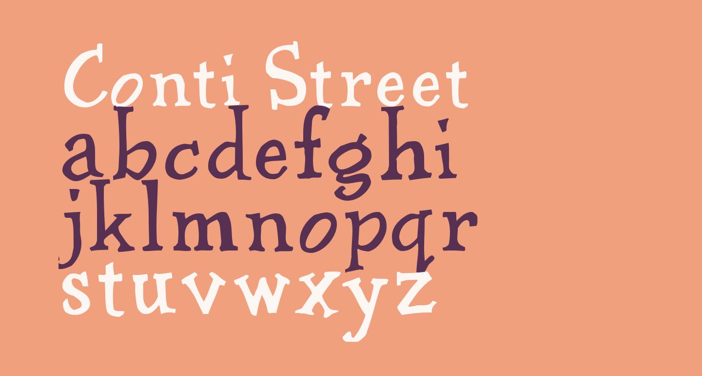 Conti Street