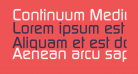 Continuum Medium