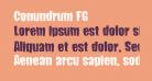 Conundrum FG