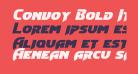 Convoy Bold Italic