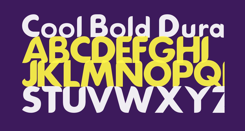 Cool Bold DuranGo