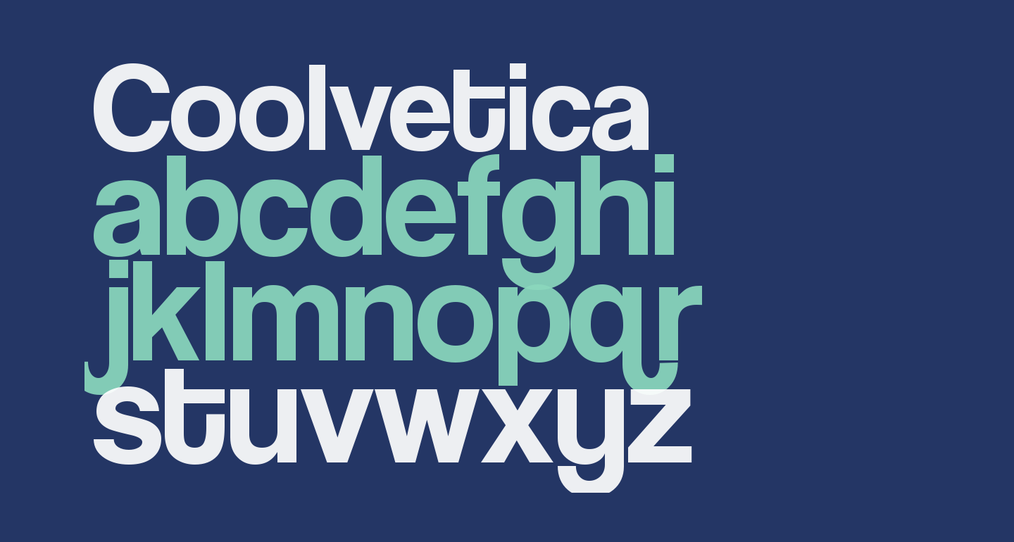 Coolvetica