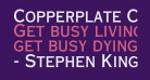 Copperplate Condensed SSi Bold Condensed