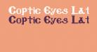 Coptic Eyes Latin